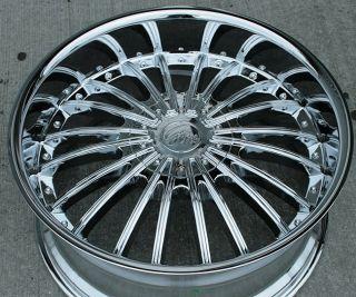 RVM 487 22 Chrome Rims Wheels Tahoe Avalanche Escalade