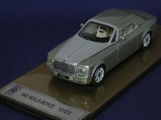 ATC 1 43 Diecast Rolls Royce 101EX Silver Passenger Car