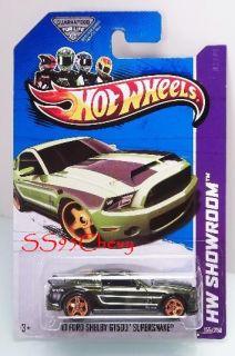 2013 Hot Wheels Super Treasure Hunt 10 Ford Shelby GT500 Supersnake