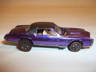HOT WHEELS REDLINE CARS; OPEN FIRE, MUSTANG, ELDORADO, FLEETSIDE, CREW