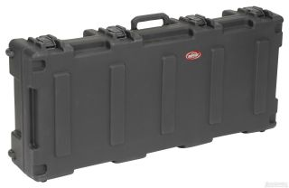 SKB 1R4417W Roto ATA 61 Note Keyboard Case with Wheels & TSA Locking