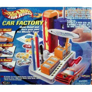 Hot Wheels Car Making Factory Factory SEALED Retired 2001