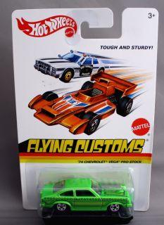 Hot Wheels Flying Customs 74 Chevrolet Vega Pro Stock