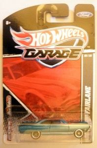 Hot Wheels Garage Real Riders 66 Ford Fairlane 03 20 R1777 956E
