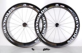 Reynolds Strike Carbon Bike Wheels Set Clincher Aero 66