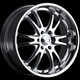 20x8 5 Chrome Boss 313 Wheels 6x5 5 14 GMC C 2500 Pickup 6LUG K 1500