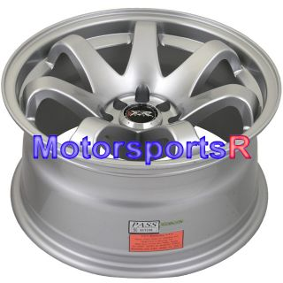 Hyper Silver Concave Rims Wheels 71 Datsun 240Z 260z 280z 280ZX
