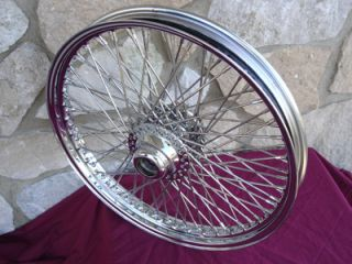 21x3 80 Spoke Front Wheel for Harley FLST Heritage Fat Boy Deluxe