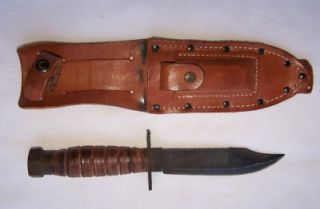 Vintage Camillus NY Pilot Survival Fighting Knife 3 1985 9 3 4