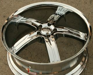 Devino Flawless 762 20 Chrome Rims Wheels Benz ML320 ML350 ML500 20 x