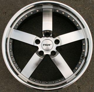 TSW Vairano 18 Gunmetal Rims Wheels Ford Fusion Flex Mustang 18 x 8 0