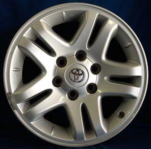 17 Toyota Tundra OE Silver Wheel 17x7 5 1 Rim