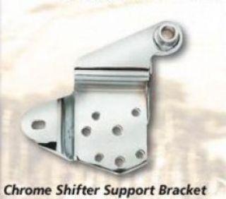 Chrome Shifter Support Bracket Fits FL FX Harley 52 84