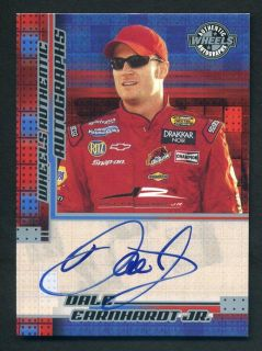 2004 Wheels Racing Dale Earnhardt Jr Auto Certified Autograph SP