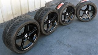 Black Mustang ® Wheels Fit Saleen GT 18x9 and Wide Tires 18 inch 1994