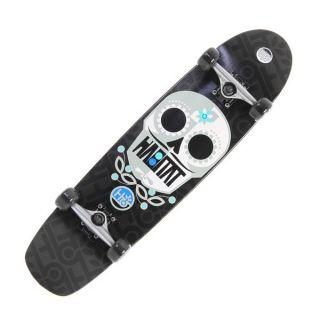 Habitat Sugar Skull L Longboard Skateboard Complete Sz 8 125x31 5