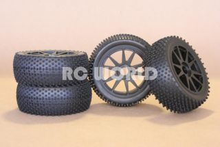 RC 1 8 Car Buggy Truck Truggy Tires Wheels Rims Nipple