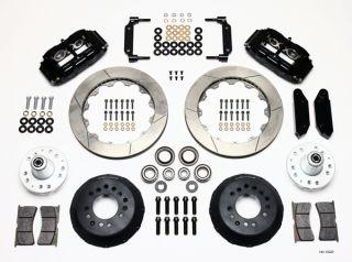 Wilwood Disc Brake Kit 70 73 Ford Mercury 13 12 Rotors Black