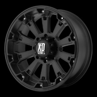 Black Rims with 325 50 22 Nitto Trail Grappler MT Tires Wheels
