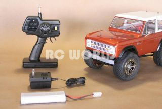 RC 1 10 Tamiya Truck Ford Bronco RC4WD Rock Crawler RTR Brand New