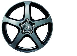 17 5 Spoke Gray Genuine Honda HFP Alloy Wheels New