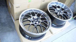 19 Staggered Wheels Black 5x114 3 Lexus IS250 Is350