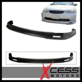 01 03 Honda Civic Mug Urethane Front Bumper Lip Spoiler