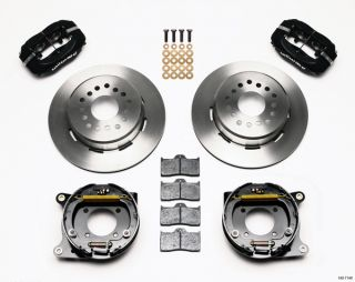Wilwood Disc Brake Kit Complete 93 97 Camaro Firebird Black Calipers