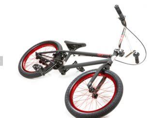 2013 United Bike Co SU18 Flat Black Red Chrome 18 inch BMX Fit Su