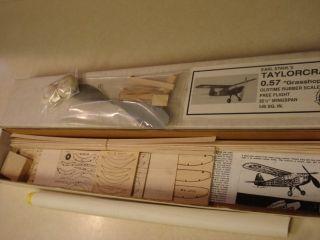 Models Taylorcraft O 57 F F Flying Model Airplane Kit
