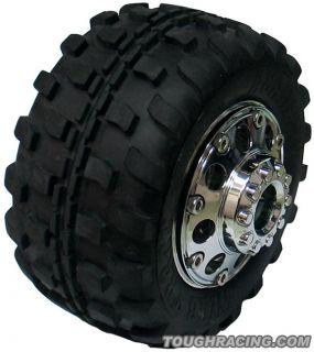 Mudrock Beadlock Wheel 4 w Scale Ring AX10 Wheely King CR 01