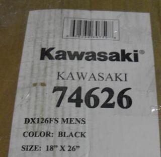 Kawasaki DX126FS Dual Suspension Mountain Bike Black
