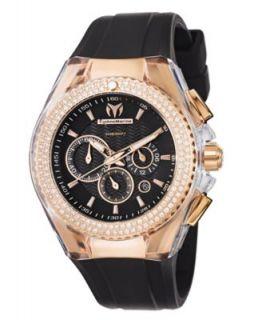 TechnoMarine Watch, Chronograph Cruise Original Star 40mm Black and
