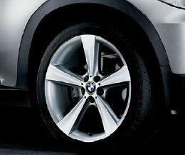 OEM BMW E70 X5 Star Spoke Style 128 Wheel/Tire Set with RDC