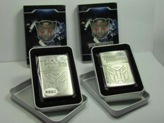 Transformer Zippo Lighters Movie Optimus Prime Bumble Bee Japan Robot