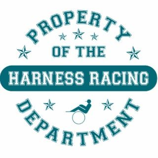 Property of the Harness Racing Department Acrylic Cut Out