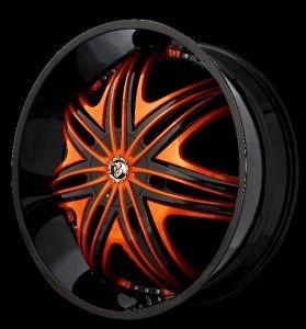 30 inch 30x10 Diablo Morpheus Black Wheel Rim 5x5 5x127 30
