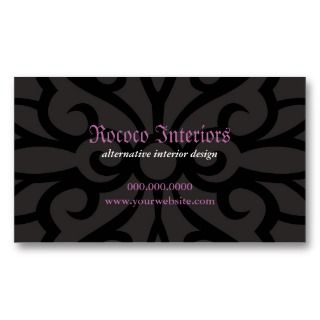 Wrought Iron Decorative Business Card