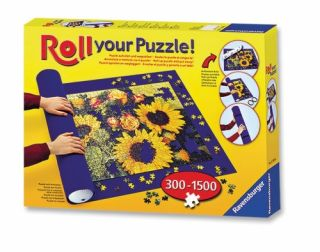 Roll Your Puzzle Roller Mat for 300 to 1500 Jigsaw Puzzle Pieces Non