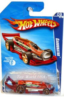 2010 Hot Wheels Faster Than Ever 137 Carbonator