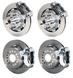 Front Rear Disc Brake Kit Wilwood 140 7675 P