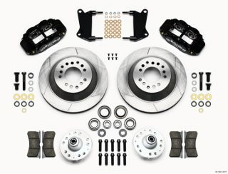 Wilwood Disc Brake Kit 64 74 GM 13 12 1 Piece Rotors 6 4 Piston