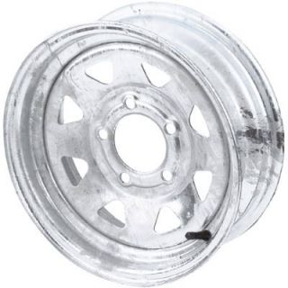 High Speed Replacement Trailer Wheel ST205/75 14 Galvanized Spoked #R