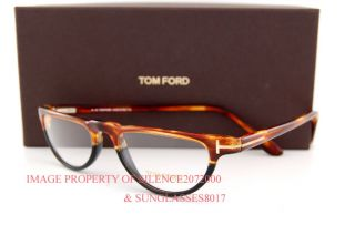 New Tom Ford Eyeglasses Frames 5117 56A Havana Black