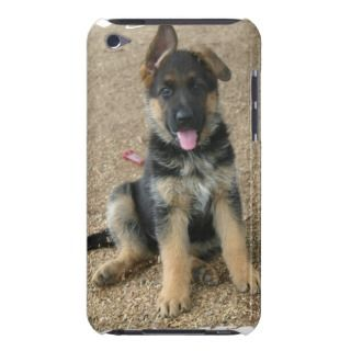 German Shepherd Puppy iTouch Case iPod Case Mate Case