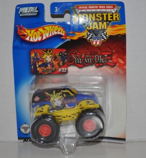 New Hot Wheels Monster Jam Yugio Truck