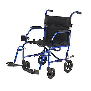 Super Light Freedom Transport Chair Blue