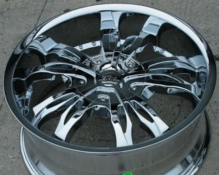 RVM 491 20 Chrome Rims Wheels Ford Expedition 5 x 135