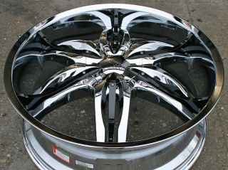 RVM 778 24 Chrome Rims Wheels Yukon Tahoe Sierra 5x127