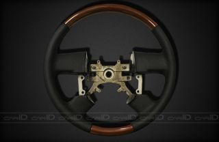 150 04 08 Sherwood Leather Steering Wheel